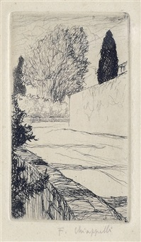 paesaggio by francesco chiappelli