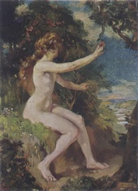 a female nude by huib (huber marie) luns