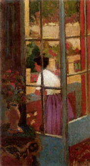 on the terrace by dugald sutherland maccoll