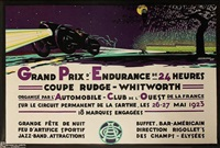 grand-prix d'endurance de 24h - automobile club de l'ouest de la france by h.a. volodimer
