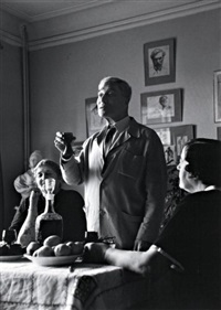 boris pasternak dans sa datcha à peredelkino by cornell capa