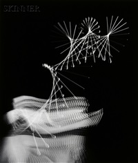 dancer and drum majorette (2 works) by harold eugene edgerton