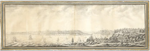 view of constantinople by antoine ignace melling