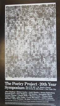 poetry project by jasper johns