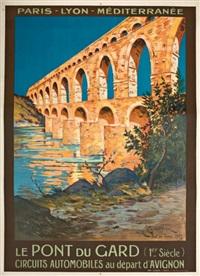 plm, le pont du gard by e. couronneau
