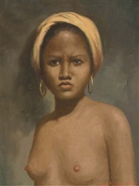 a portrait of a young woman by anthony godoy