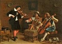 la partie de musique by charles antoine joseph loyeux