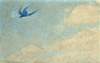 the lone swallow by frederick william hutchison