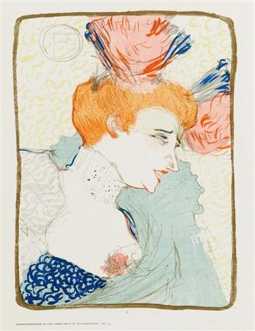 Mademoiselle marcelle lender en buste by henri de - Mademoiselle marcelle ...