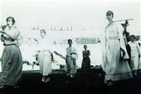 national-spiele im stadion zu athen (2 works) by walter hege
