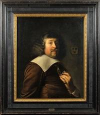 portrait de noble by jan de bray
