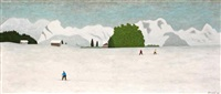 ski de fond by arthur hurni