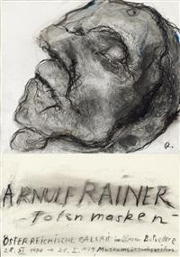 arnulf rainer – totenmasken by arnulf rainer