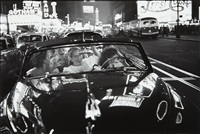 broadway convertible, n.y by louis faurer