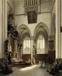 the holy communion by jules victor genisson