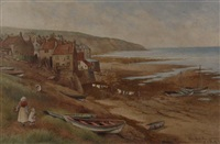 robin hood's bay - yorkshire by kate e. booth