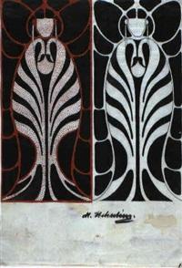 two angels by marie (mitzi) von uchatius