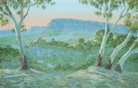 escarpment in the kimberley ranges by peter snelgar