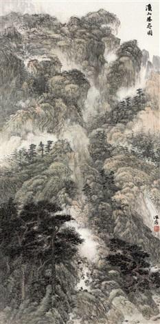 溪山无尽 landscape by xiao haichun