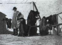terrazza con costumi by vito d' ancona