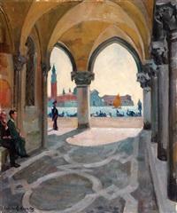 venice by arnold borisovich lakhovsky