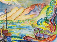julitag am see by andre alexeyevich jawlensky