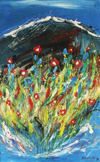 bunga di taman by amri yahya