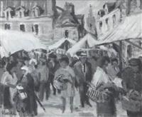 jour de marché à paimpol by eric battista