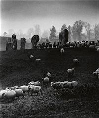 avebury: after thomas hardy (stone circle, wiltshire) by bill brandt