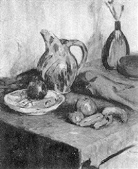 tabletop still life by lucien abrams