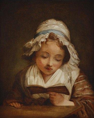 jeune fille à la lecture by jean honoré fragonard