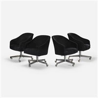 office chairs (set of 4) by ward bennett