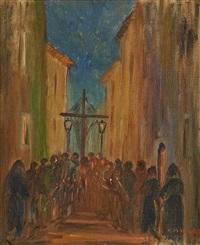 la procession by josep coll bardolet
