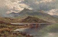 lock etive, argyllshire by henry decon hillier