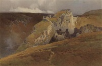 tintagel, cornwall by arthur tucker
