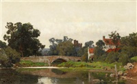 helmsley bridge by frederick george cotman
