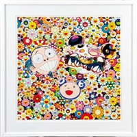 me and double - dob by takashi murakami