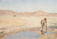 marche dans le désert by louis joseph anthonissen