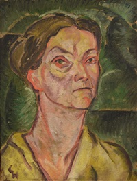 portrait of a woman by carry hauser
