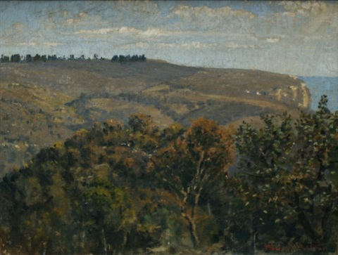 kings tablelands blue mountains by julian howard ashton