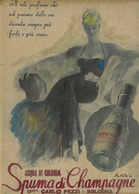 champagne by mimmo rotella