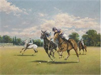 polo at windsor park by paul s. gribble