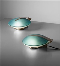 pair of rare table/wall lights by fontana arte