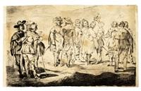 les petits cavaliers (after velasquez) by édouard manet