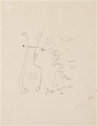 rostro by jean cocteau