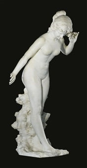 flora (allegory of spring) by aristide petrilli