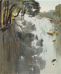 lake by wu guanzhong