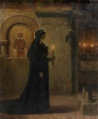 la veuve by jean paul laurens