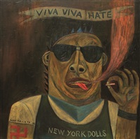 viva viva hate by andres barrioquinto