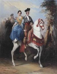 a horse ride by manuel rodriguez de guzman
